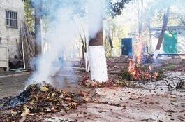 济南发布14条措施治理大气扬尘:保洁员焚烧树叶可辞退