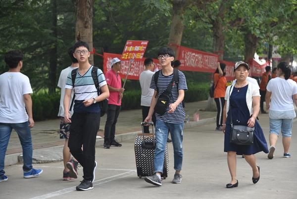 6600余名新生走进潍坊学院开启大学新生活