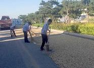 潍坊峡山区开展打场晒粮专项整治 清理道路打场晒粮20余处