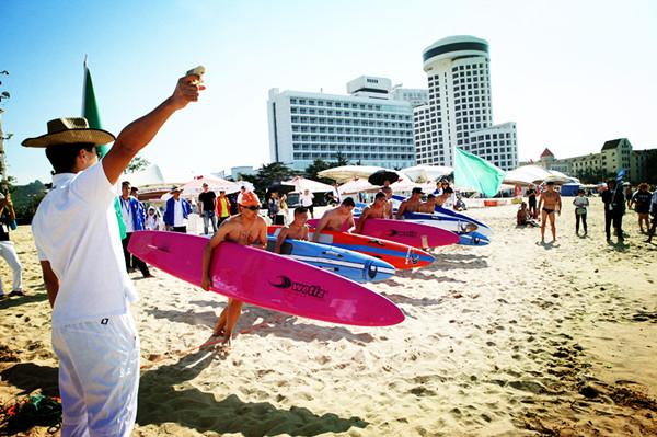 第十九届全国救生锦标赛在青岛举行 比赛持续4天