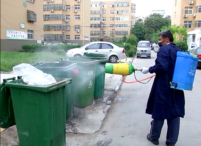聊城开展集中消杀蚊蝇活动 防止蚊蝇滋生传播疾病