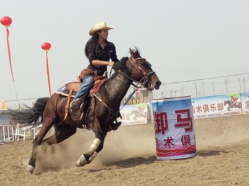 第十四届齐文化节首届马术赛临淄开赛