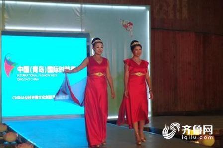社区明星t台秀 青岛国际时装周打造百姓舞台