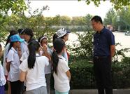 滨州团市委庞部长一行来黛溪小学调研少先队工作
