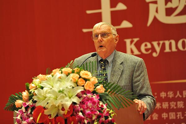 韦爱德:推动儒家文化在气候治理方面发挥应有的作用