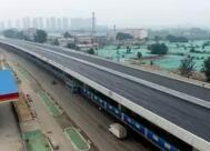 济南工业北路高架路10月底通车 地面道路11月底全线通车