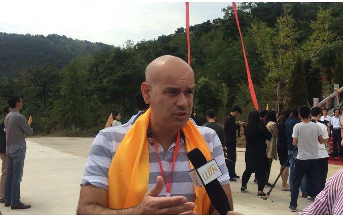 希腊德尔菲市副市长点赞日照:太阳文化遗产丰富的现代化城市