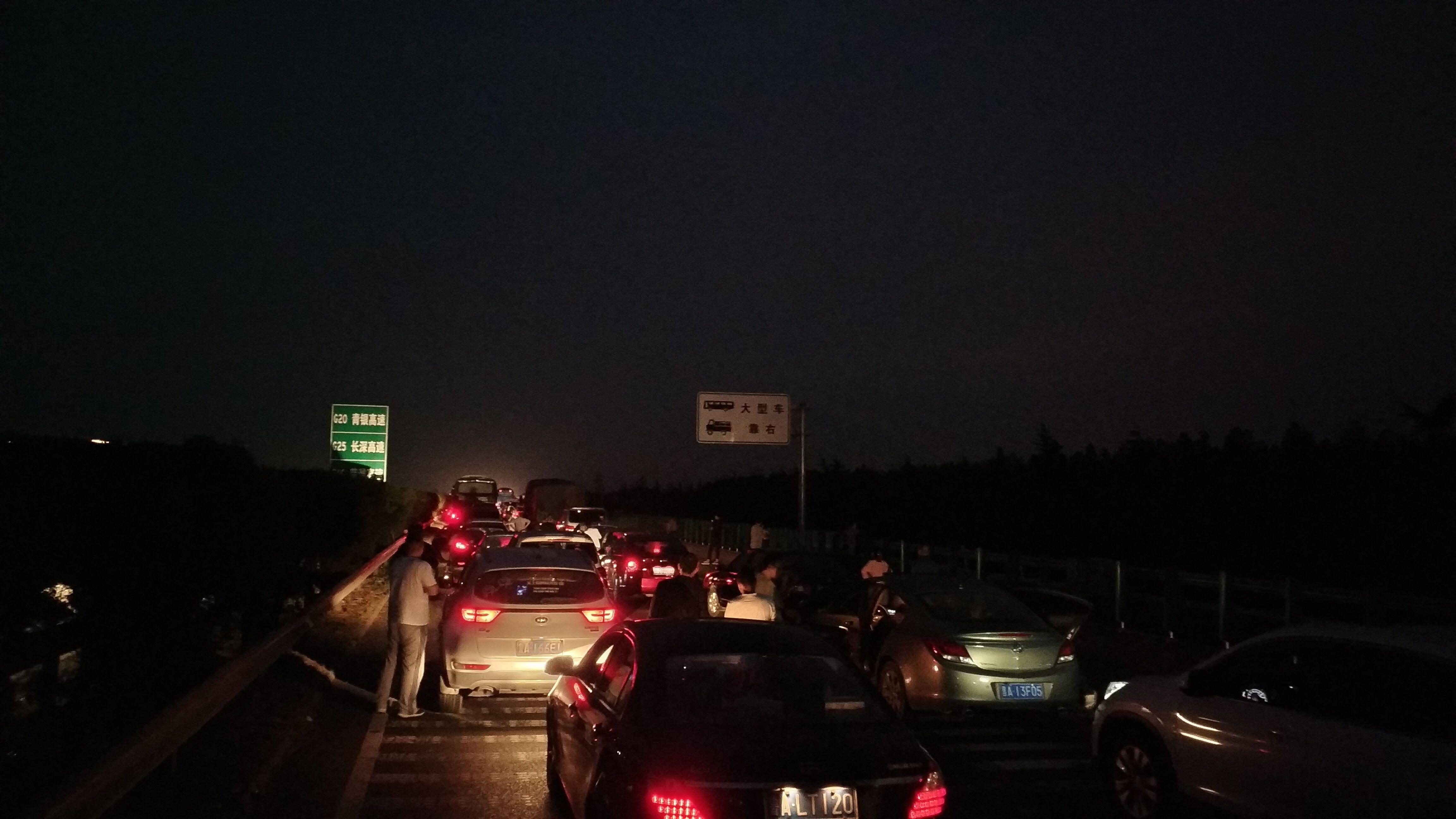 最新路况:济青高速公路临淄段堵车近10公里 堵车堵到没脾气