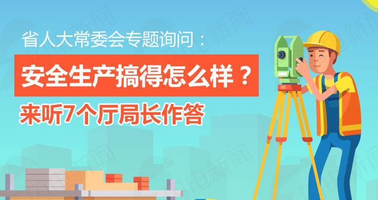 政能量|省人大常委会专题询问:安全生产搞得怎么样?来听7个厅局长作答