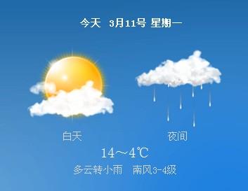 冷空气来了!小雨+降温,聊城11日最低气温8℃