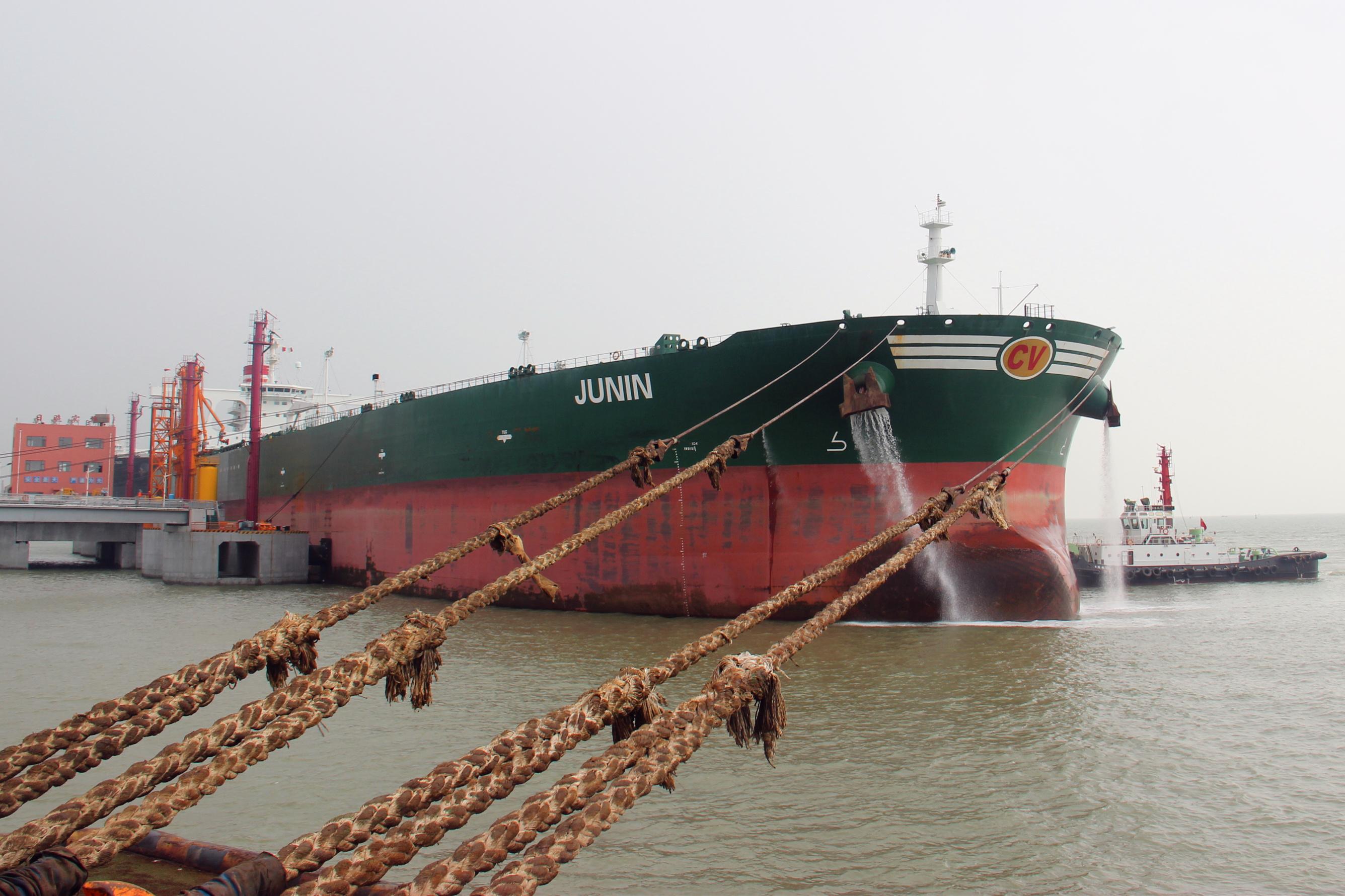 日照岚山口岸前三季度进口原油货值突破100亿美元