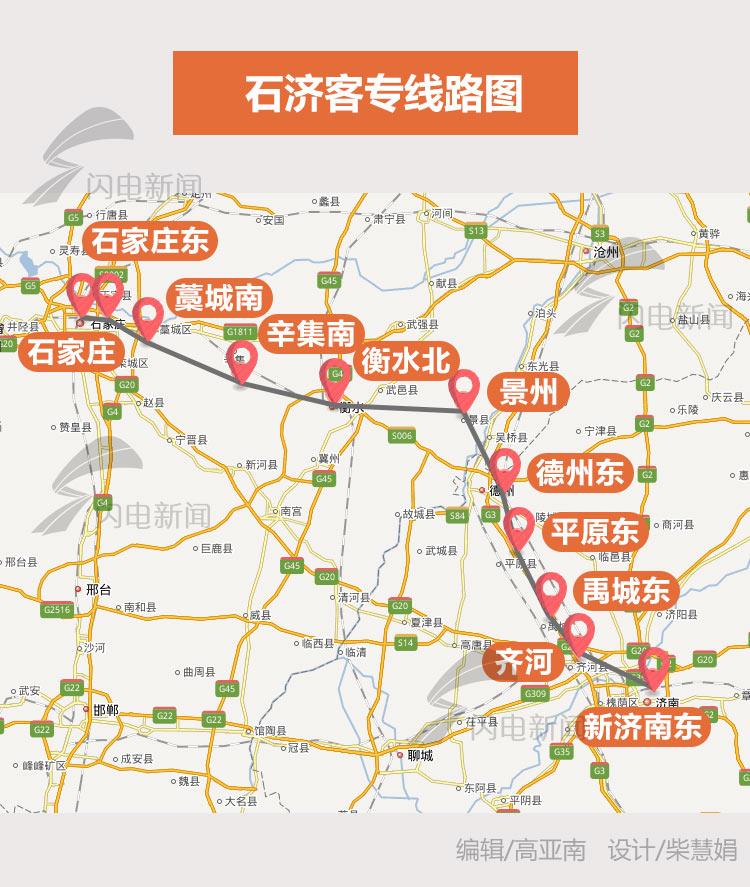济南至太原只需3小时!石济客专年底开通至济南西站