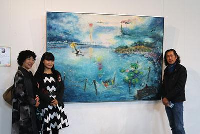 宁津美术书法精品展开展  120余幅书画名家作品亮相