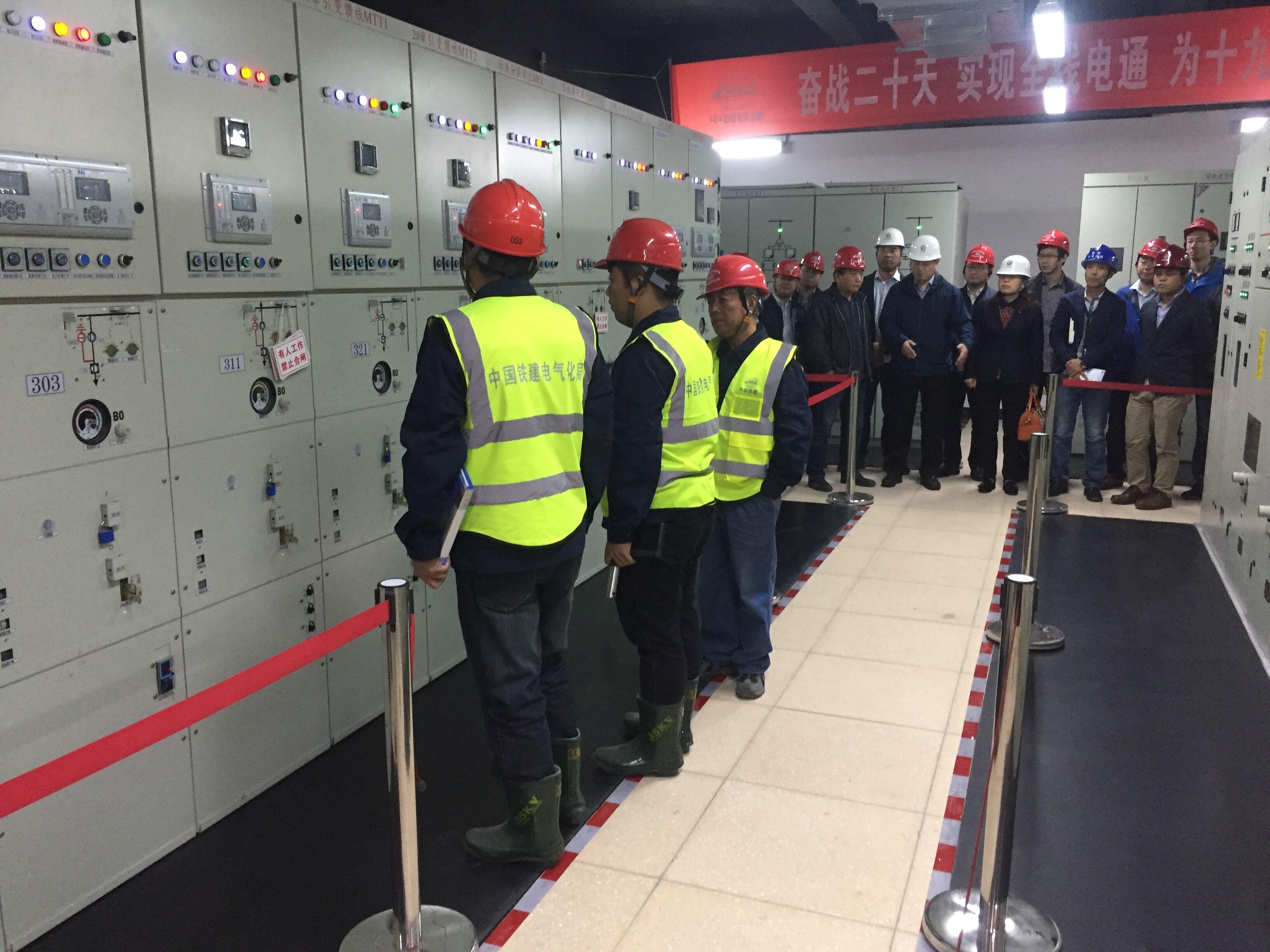 青岛地铁11号线全线送电成功正式投入运行