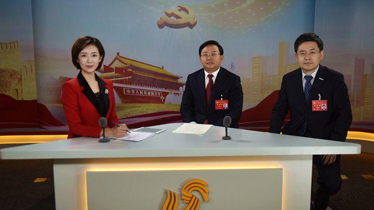 对话党代表丨申长友王恩东做客山东台融媒体演播室