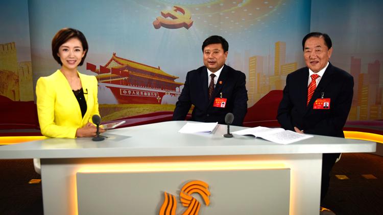 对话党代表丨王传喜 亓庆良做客山东台融媒体演播室