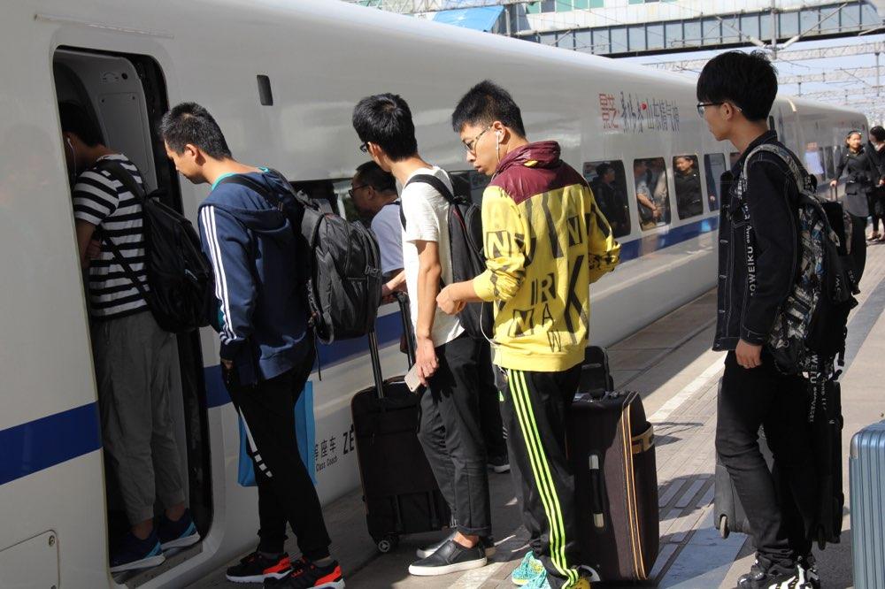因施工影响淄博站部分旅客列车临时停运 列车时刻变化调整