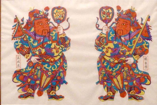 全国第一家杨家埠木版年画文化主题酒店潍坊开门迎客
