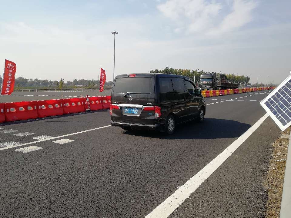 济青北线改扩建首次交通转序 双幅双向转为单幅双向通车