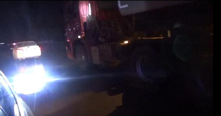 52秒丨男子开危化品车进城区被查 一检测还是酒后驾驶