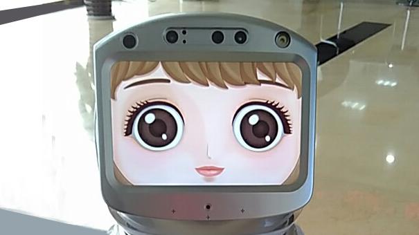 """""""您好,我是小宝!""""德州首个智能政务综合服务机器人上线"""