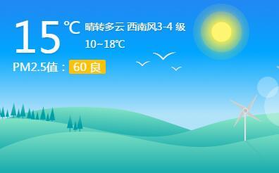 海丽气象吧丨 日照周五受冷暖空气影响大部分地区有阵雨