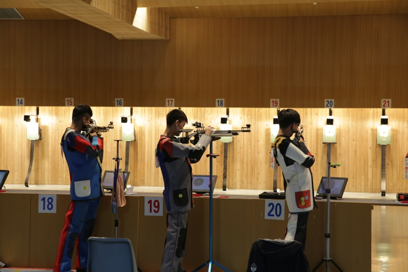山东省青少年射击冠军赛在济宁落幕 208名运动员参赛