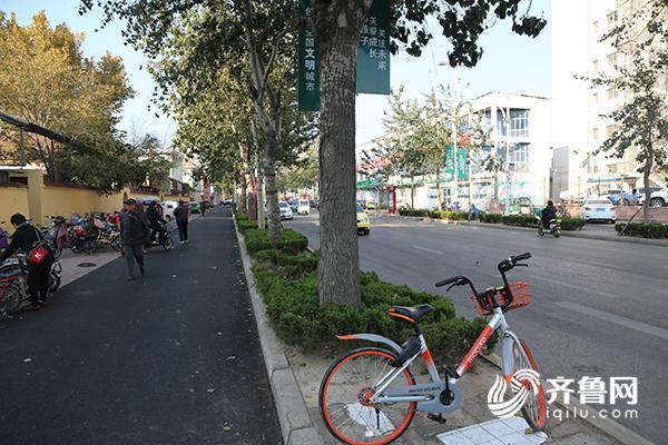 德州市人民医院,妇幼医院道路拓宽 增设非机动车道