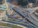 济南最大互通立交扳倒井立交桥预计今年年底通车