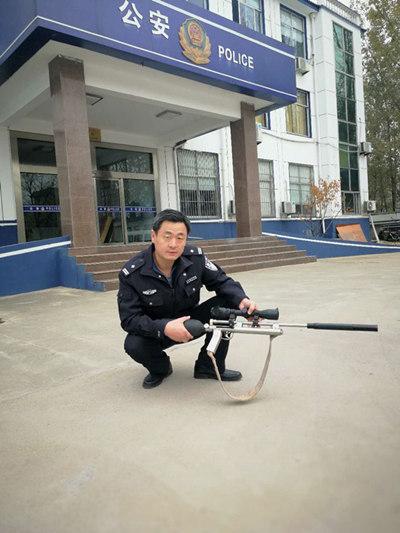 临沂:男子网购气枪打鸟解馋 换来三天行政拘留