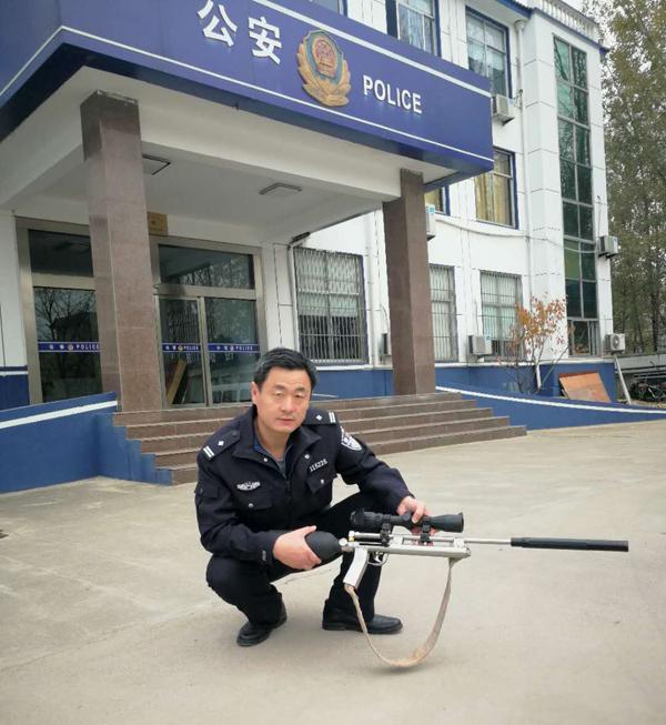 馋货一个!平邑男子网购气枪打鸟解馋被行拘