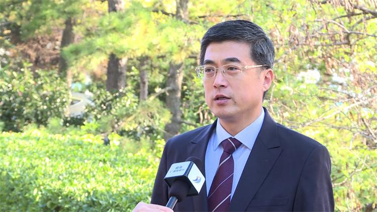 """威海综合保税区常务副主任姜进军:融入""""一带一路""""战略取得新成果"""