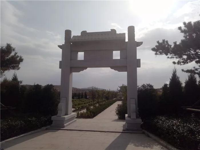 淄博市首家公益性公墓张店平山陵园正式建成使用