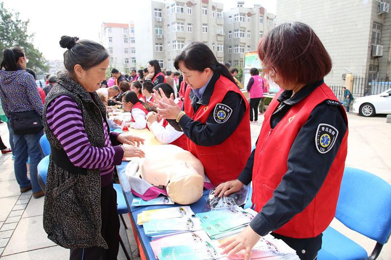 青岛市南创新志愿服务项目化管理模式 提升百姓获得感