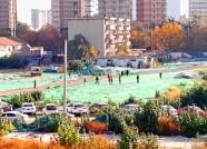 潍坊加大冬季扬尘治理 严令建筑工地物料覆盖率100%