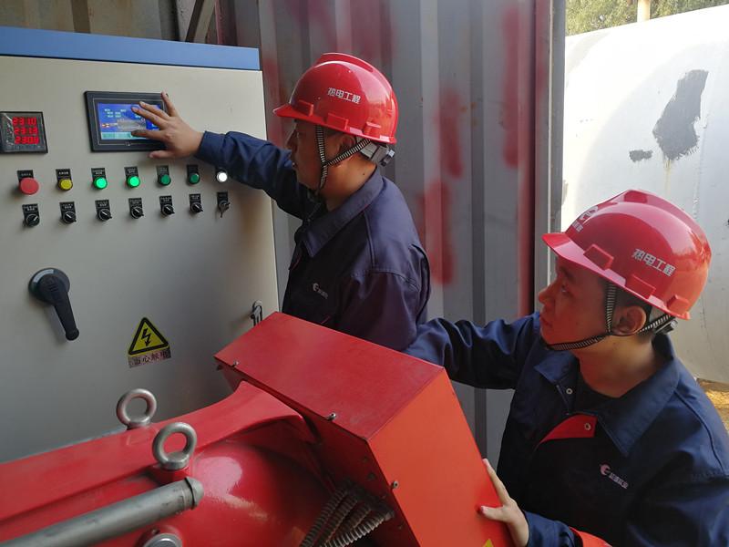 青岛开展供热突发事故应急热源演练  一小时恢复居民供热