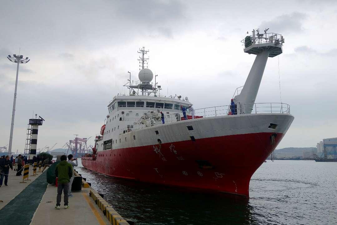 """""""科学""""号西太平洋科考顺利返航 五大科研成果看这里"""