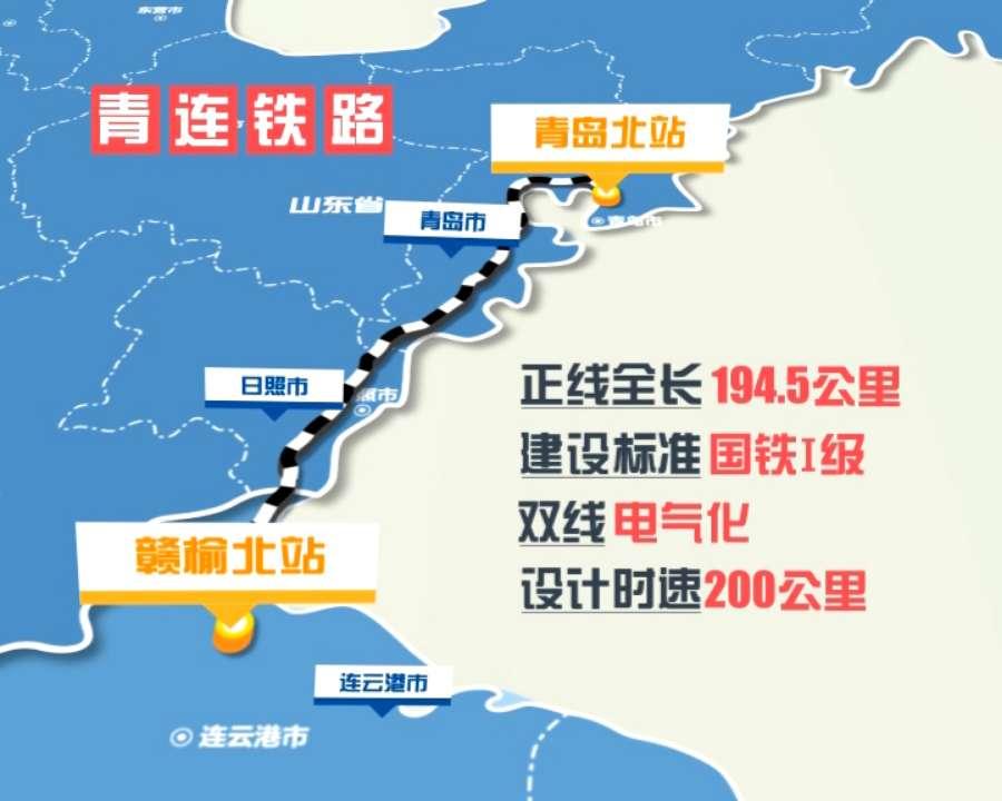 82秒丨青连铁路今天开始铺轨开通进入倒计时