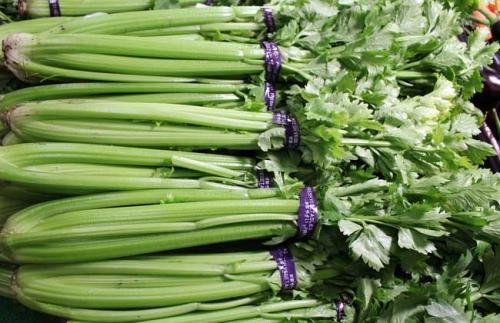 淄博食药监公布食品安全抽检情况 4批次芹菜毒死蜱超标