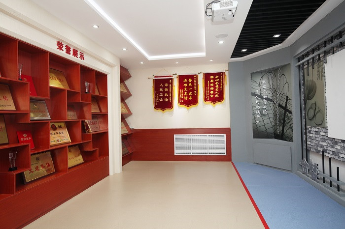 潍坊市公安系统首个基层所队廉政教育基地在滨海建成使用