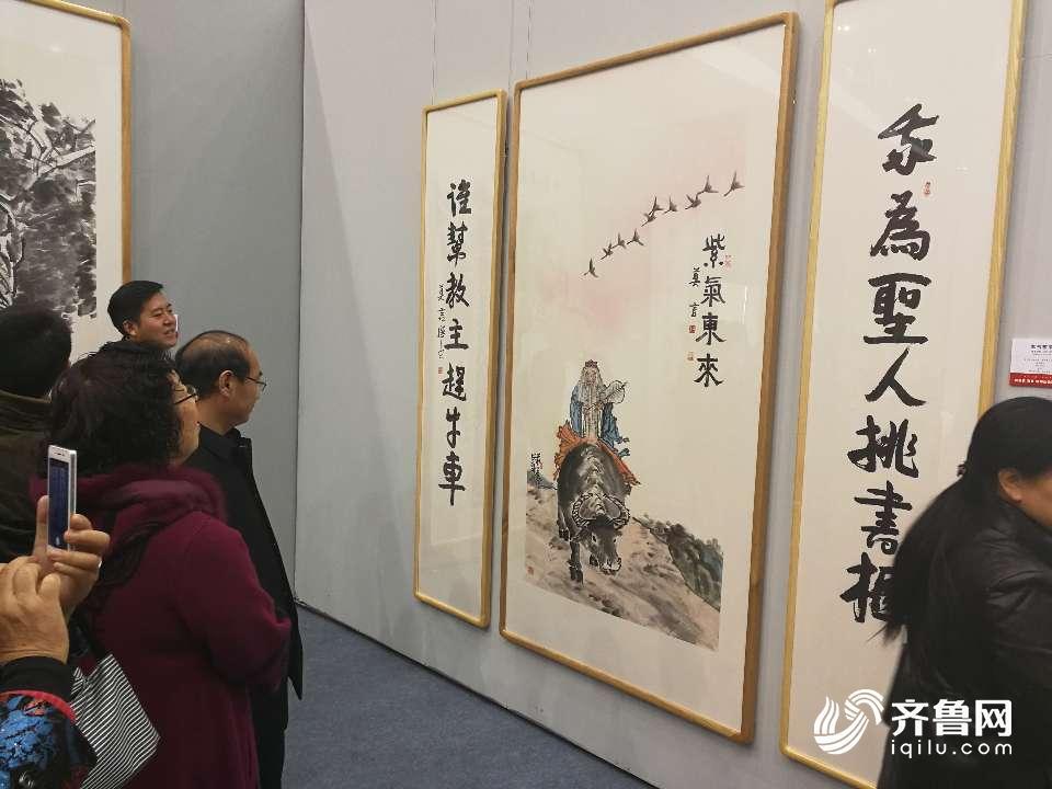 尚意·2017全国中国画(写意)作品展在东营开幕图片