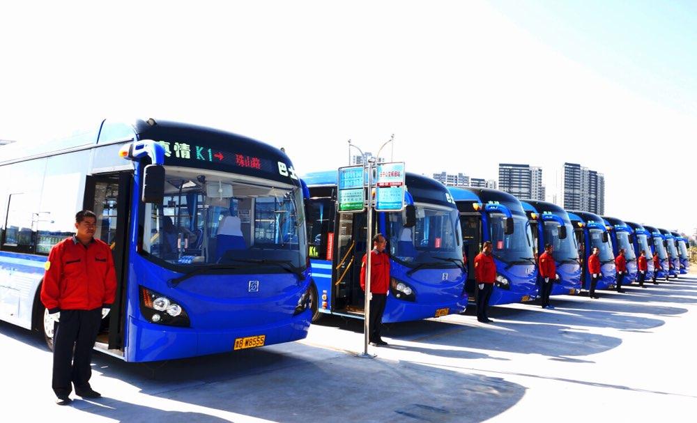 智慧公交创新发展研讨会青岛西海岸新区举行