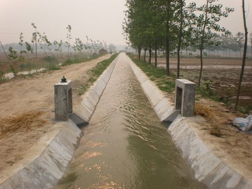 山亭区农田水利项目县(2017年度)项目顺利通过市级验收