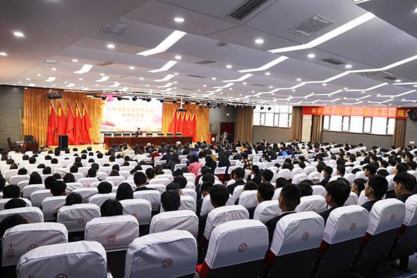 宣讲进行时|山东交通技师学院特邀十九大代表王传喜作宣讲报告
