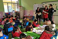 兰山区公安分局组织开展法制安全教育进校园活动