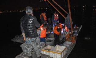 保护沂河渔业资源!临沂渔政部门查处违法捕鱼案件26起
