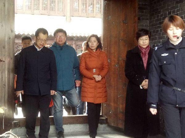 国家旅游局联合检查组督导台儿庄旅游工作
