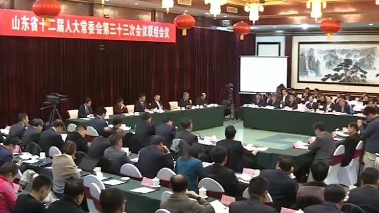 省十二届人大常委会第三十三次会议举行联组会议就全省环境保护工作情况进行专题询问