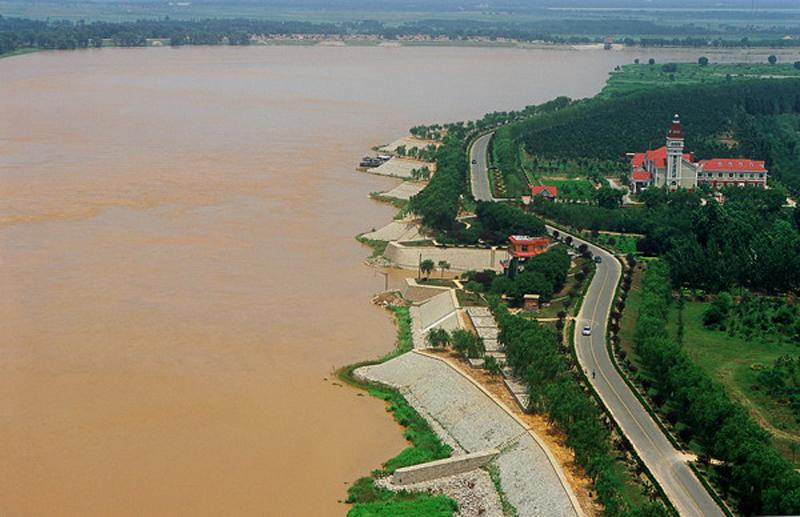 山东开展黄河工程管理大检查 现场打分公布检查结果