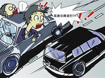 济宁:真捏一把汗!新手司机头回上高速超车道逆行十余公里